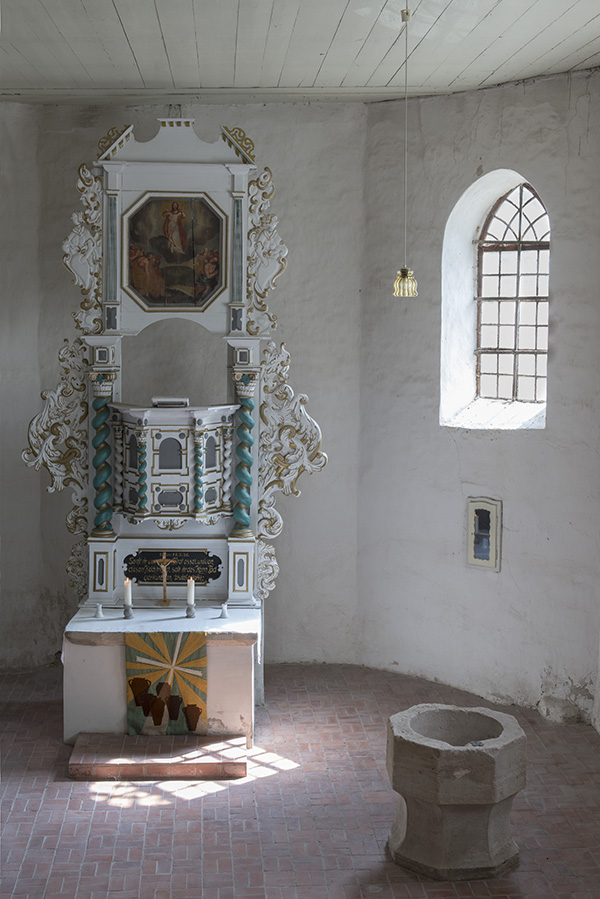Wormsleben, Altar, Foto: K. Hoerenz, Waltershausen