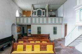 Wormsleben, Orgelempore, Foto: K. Hoerenz, Waltershausen